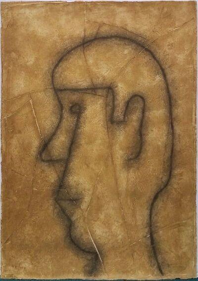 Rufino Tamayo, 'PERFIL SOBRE ESTUCO', 1977