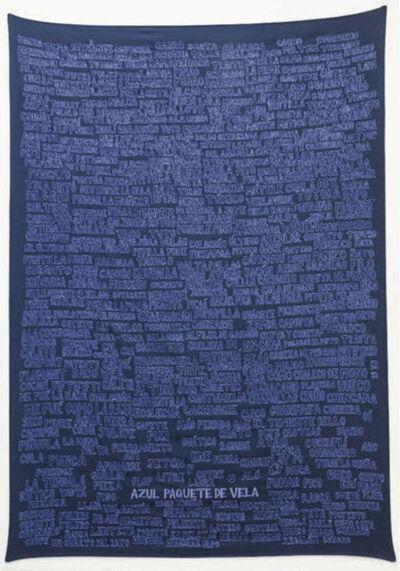 Carlos Castro Arias, 'Azul paquete de vela', 2018