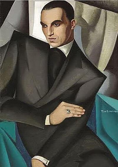 Tamara de Lempicka, 'Portrait du Marquis Sommi', 1925