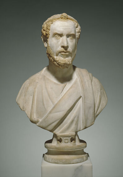 'Portrait Bust of Man, Perhaps a Priest of Serapis', ca. 180