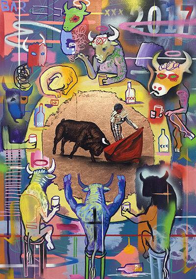 ANDRÉS GARCÍA-PEÑA, '2017 New Year Bull Fight', 2017