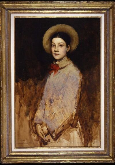 Frank Duveneck, 'Amy Folsom', ca. 1880
