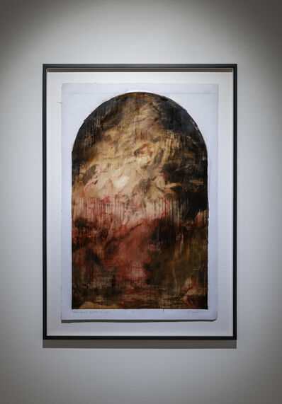 Jake Wood-Evans, 'Study for The Assumption of the Virgin Mary, with Cadmium Red, after Rubens, ', 2019