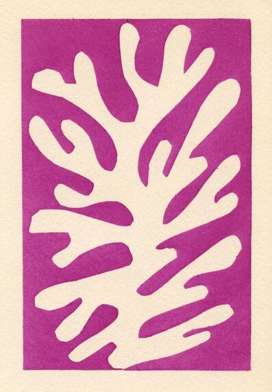 Henri Matisse, 'Pochoir 'Arbre de neige'', 1953