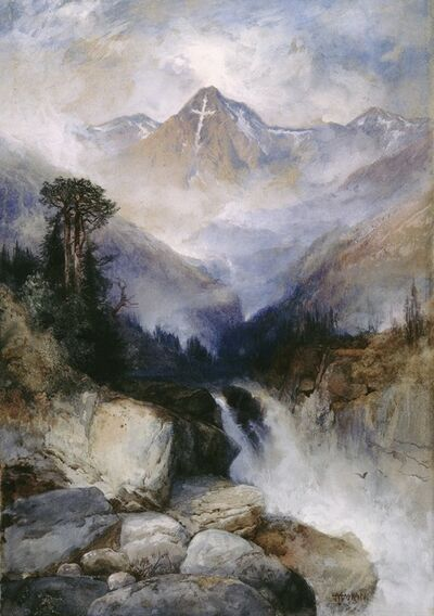 Thomas Moran, 'Mountain of the Holy Cross', 1890