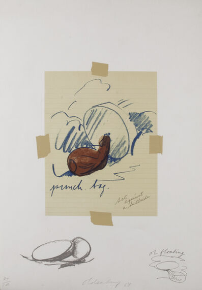 Claes Oldenburg, 'Untitled (Punching Bag) ', 1968