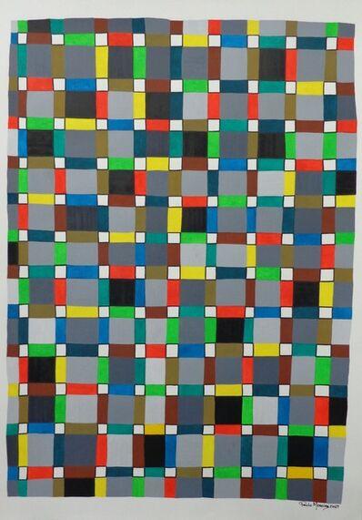 Paulo Moreira, 'Tramas Cromáticas #I, Tramas Cromáticas #II, Tramas Cromáticas #III, Tramas Cromáticas #IV, Tramas Cromáticas #V, Tramas Cromáticas #VI. ', 2019