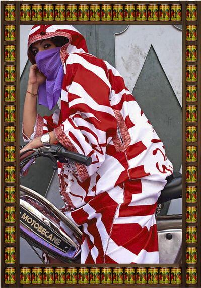 Hassan Hajjaj, 'Brown Eyes (from the series 'Kesh Angels)', 2010