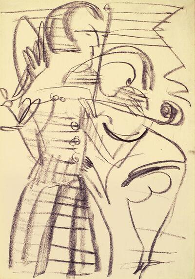 Ernst Ludwig Kirchner, 'Violinistin ', 1937