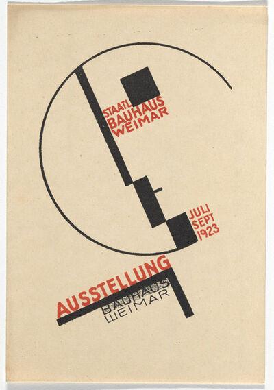 Dörte Helm, 'Bauhaus Postcard', 1923