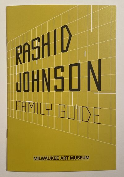 "Rashid Johnson, 'Rashid Johnson ""Hail We Now Sing Joy"" Milwaukee Art Museum Ten Page plus covers collaborative interactive Exhibition Brochure/Booklet, 2017', 2017"