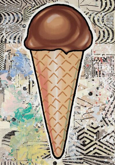 Donald Baechler, 'Chocolate Cone', 2007