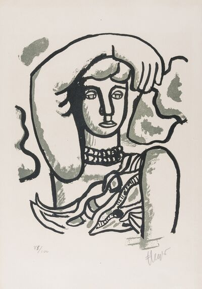 After Fernand Léger, 'Marie l'acrobate', 1955