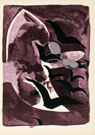 Georges Braque, 'Les Oiseaux de Nuit', 1964