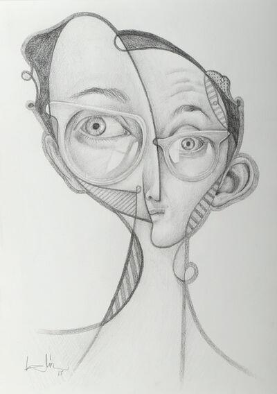 Belin, 'Keith Haring', 2017