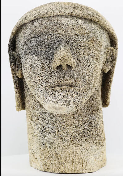 Unidentified Artist (Inuit), 'Inuk Bust', ca. 1965
