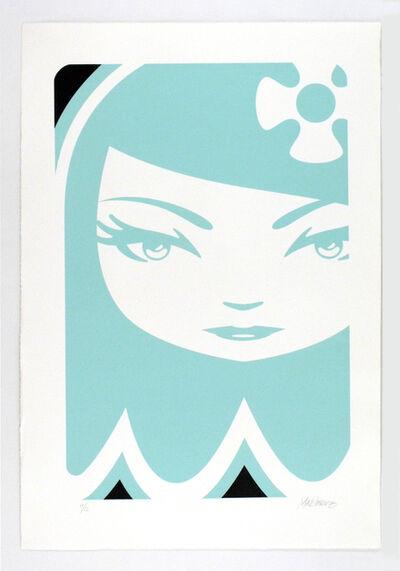 matt siren, 'Ghost Girl Inky', 2008