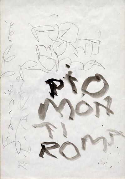 Emilio PRINI, 'Untitled', ca. 1974