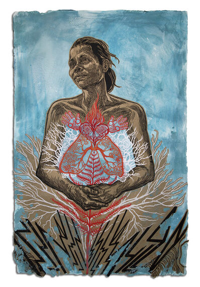 Swoon, 'Sonia', 2016