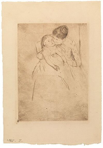 Mary Cassatt, 'The Sick Child (No. 3)', ca. 1889