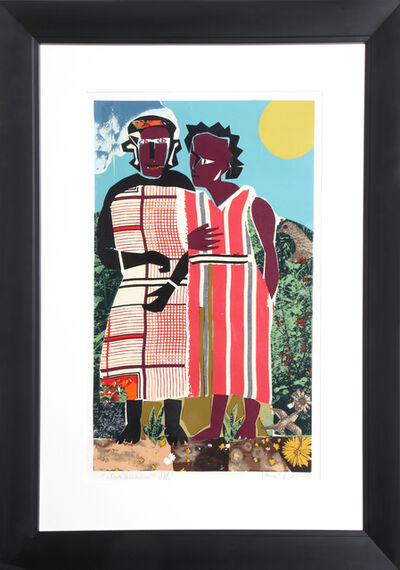 Romare Bearden, 'Two Women', 1981-1982