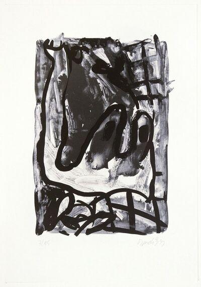 Georg Baselitz, 'Rebe', 1993