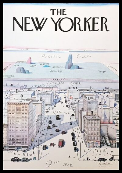 Saul Steinberg, 'The New Yorker', 1976