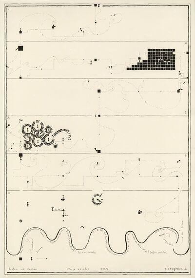 Warja Lavater, 'Pictogram 2', 1976