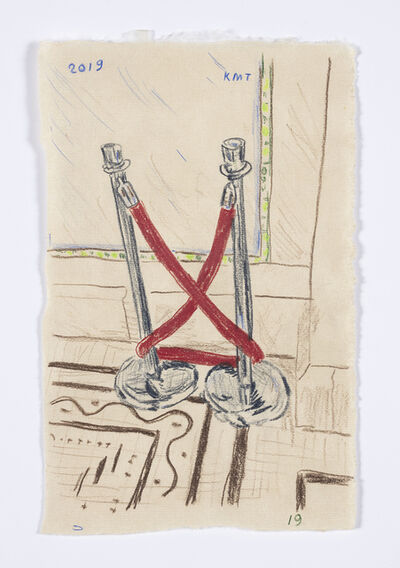 Kevin McNamee-Tweed, 'Velvet Rope at Chicago Cultural Center', 2019