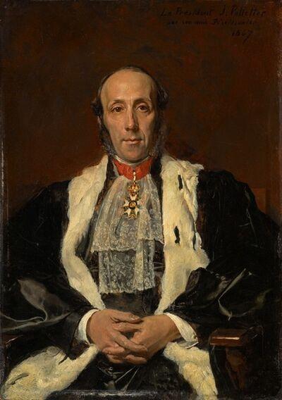 Jean-Louis-Ernest Meissonier, 'Jules Pelletier', 1867
