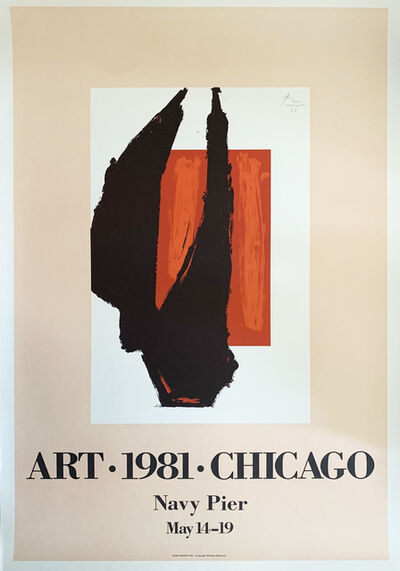 Robert Motherwell, 'Art 1981 Chicago', 1981