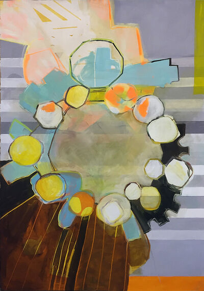 Yura Adams, 'Sheer Coruscating Dither', 2016
