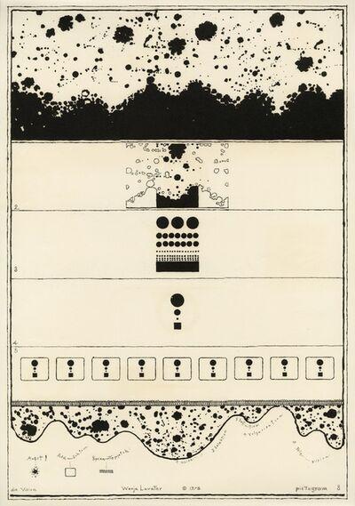 Warja Lavater, 'Pictogram 8', 1976