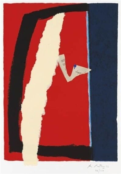 Robert Motherwell, 'Game of Chance', 1987