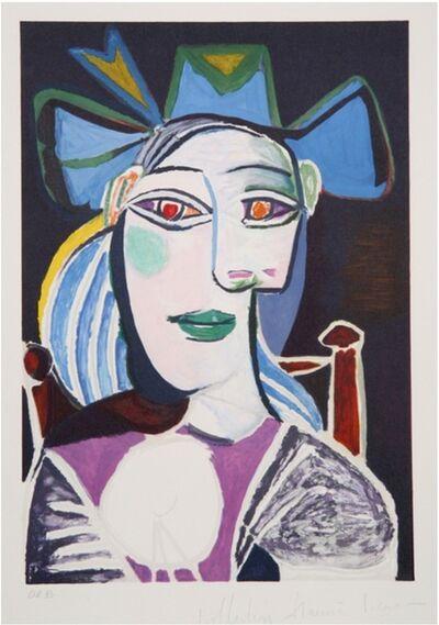 Pablo Picasso, 'Buste de Femme au Chapeau Bleu', 1979-1982