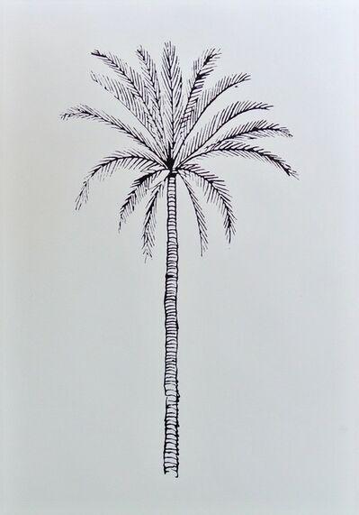 Katharina Fritsch, 'Lexikonzeichnung (Palme)', 1997