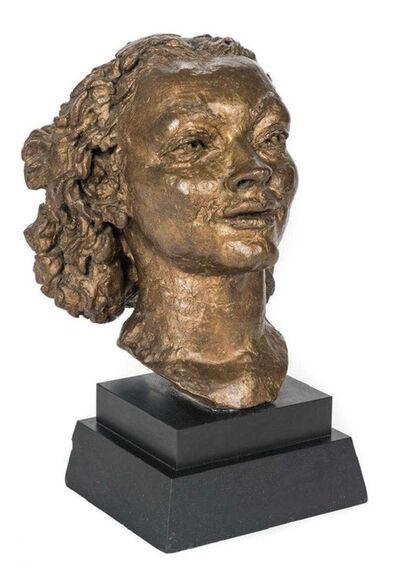 Jacob Epstein, 'Portrait of Pola Nerenska', ca. 1937