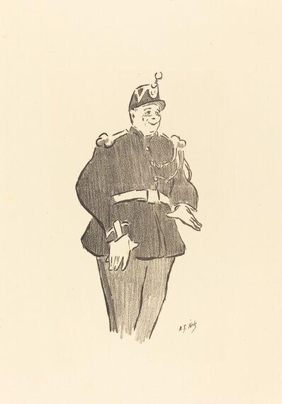 Henri-Gabriel Ibels, 'Gendarme', 1893