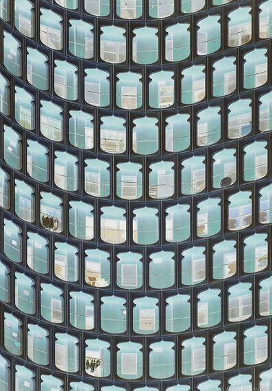 Andrew Prokos, 'Inverted - Arabesque Facade, Dubai ', 2020
