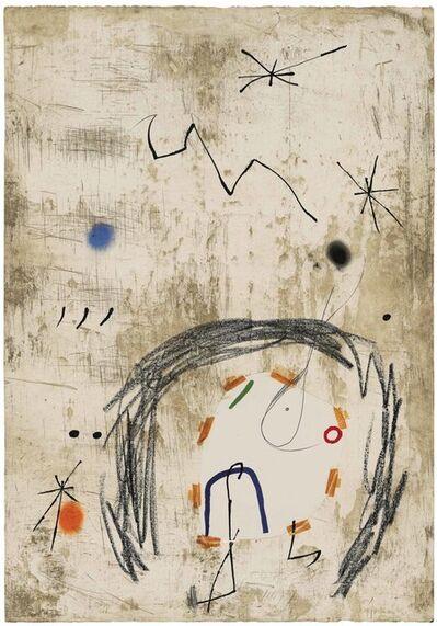 Joan Miró, 'Maquette for: Persontage i Estels VI', 1979