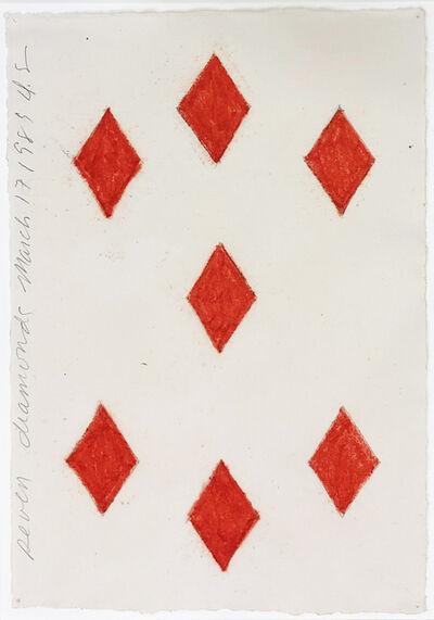 Donald Sultan, 'Seven Diamonds March 17 1989', 1989