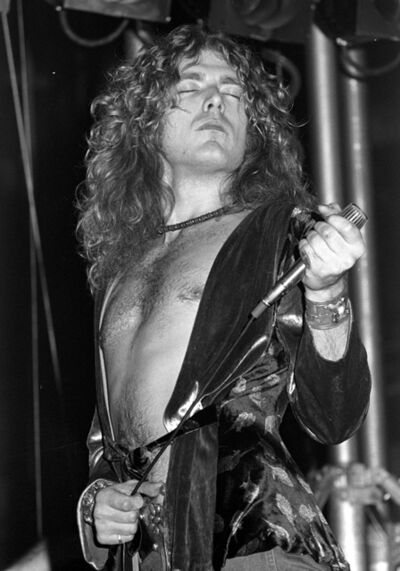 Richard E. Aaron, 'Led Zeppelin, Robert Plant', 1975