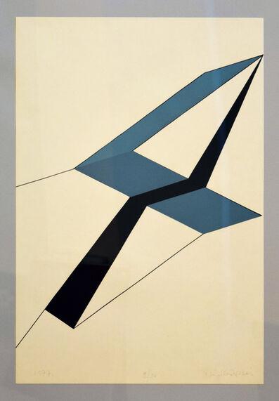Nádler István, 'In white space ', 1977