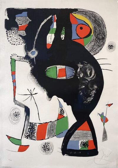 Joan Miró, '42 Rue blomet', 1977