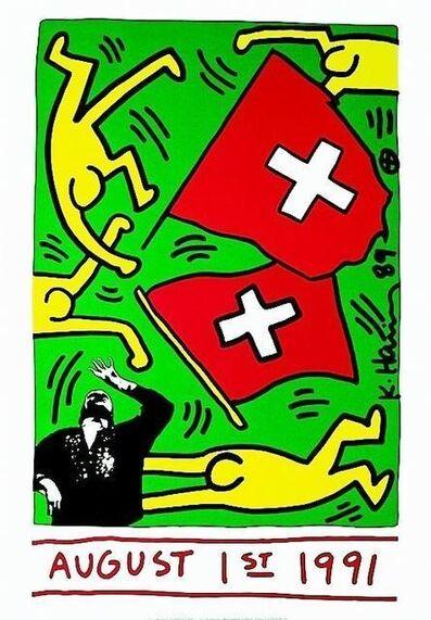 Keith Haring, '700 Jahre Schweiz', 1991