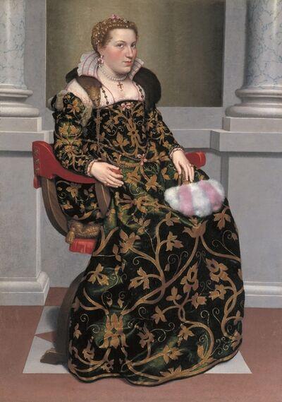Giovanni Battista Moroni, 'Isotta Brembati', 1555