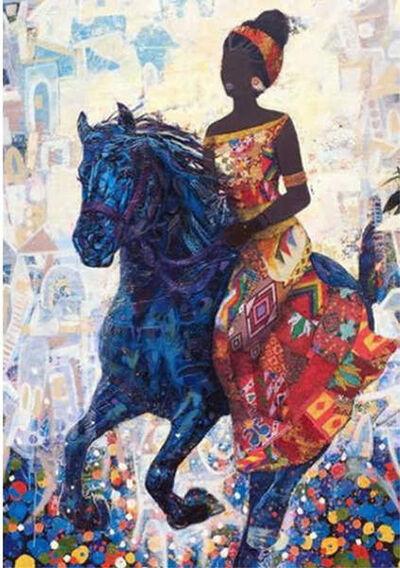 Nahosenay Negussie, 'The Night She Rode Away', 2017