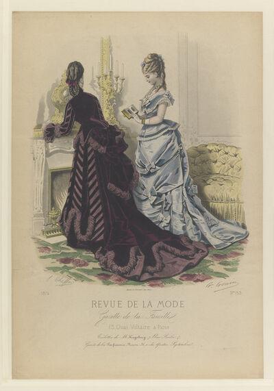 E. Cheffer, 'Plate No. 153 in Fashion Review in the Family Gazette [Revue de la Mode, Gazette de la Famille]', 1847