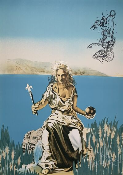 Salvador Dalí, 'Coronation of Gala', 1976