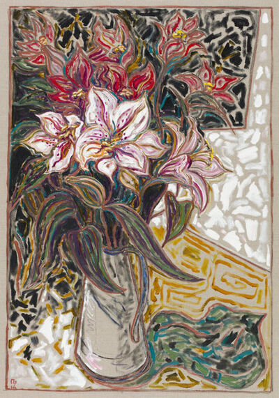 Billy Childish, 'Lillys', 2016